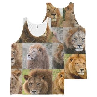 león fresco por todo diseños