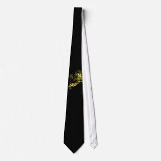 León heráldico del oro - la ropa de MyBlazon para  Corbata