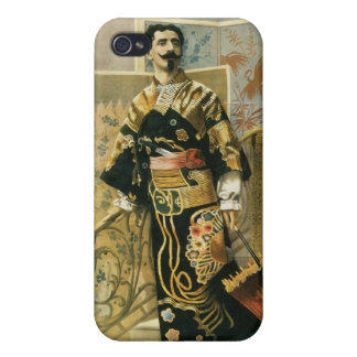 Leon Herrmann Magician ~ Vintage Magic Act Cover For iPhone 4