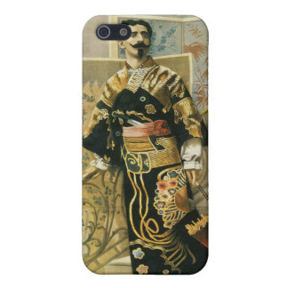 Leon Herrmann Magician ~ Vintage Magic Act iPhone SE/5/5s Cover