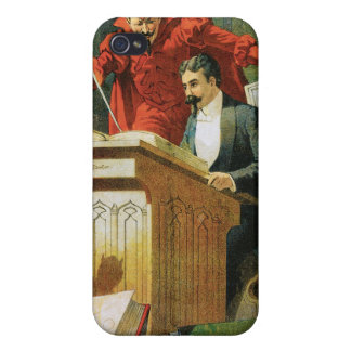 Leon Herrmann The Great ~ Vintage Magic Act iPhone 4/4S Case