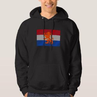 León holandés del holandés de la bandera sudadera