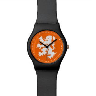 León holandés desenfrenado relojes