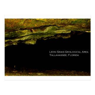 León hunde área geológica postal