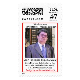 Leon IANCOVICI, Esq. (Romania) Postage