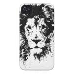 león iPhone 4 Case-Mate carcasa