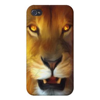León IPHONE del guerrero iPhone 4 Protector