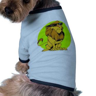 León irritable adicional ropa de perro
