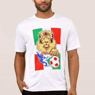 León italiano, mexicano o húngaro del fútbol poleras