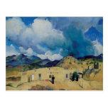 Leon Kroll Santa Fe Hills 1917 Post Card