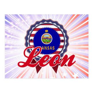 León, KS Postales