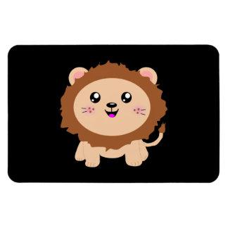 León lindo del dibujo animado iman