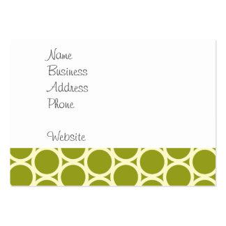 León lindo en los regalos verdes del modelo para l tarjeta personal