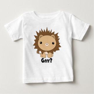 ¿León lindo Grrr de Kawaii? Camiseta Poleras