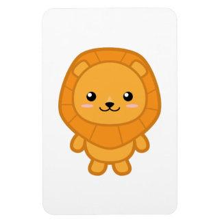 León lindo iman rectangular