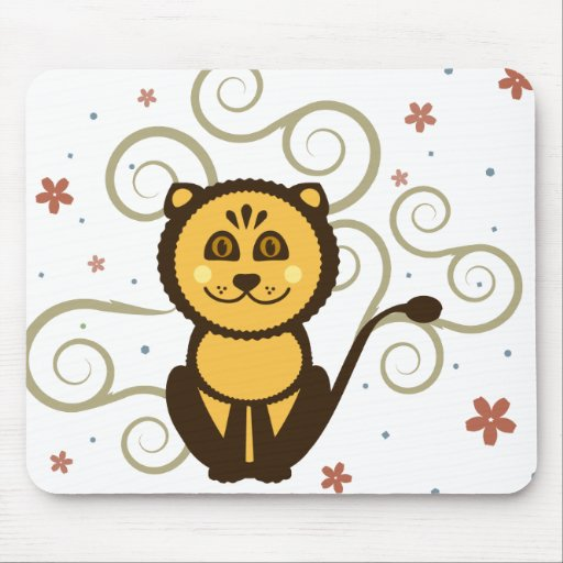 León lindo Mousepad
