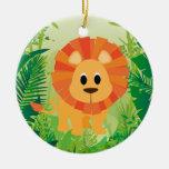 León lindo ornaments para arbol de navidad