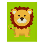 León lindo postal