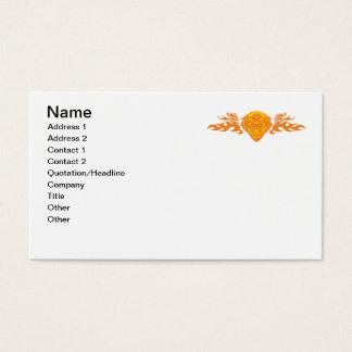 León llameante #2 tarjeta de negocios