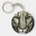 león llaveros