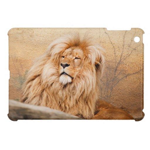 León majestuoso iPad mini protector