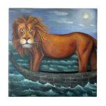 León marino azulejo cerámica