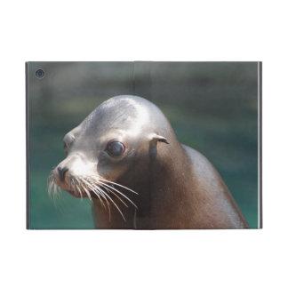 León marino con una cara linda iPad mini carcasa