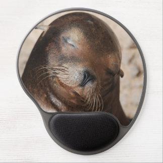 León marino de California Alfombrilla De Raton Con Gel