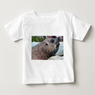León marino de Steller del retrato Remeras