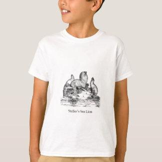 León marino de Steller Remeras