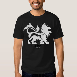 León negro de la camiseta de Judah - Rey-Yo Playera