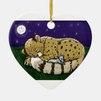 León+Ornamento de LambPeace Ornamento De Navidad
