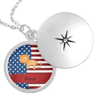 León patriótico conocido personalizado joyerias personalizadas