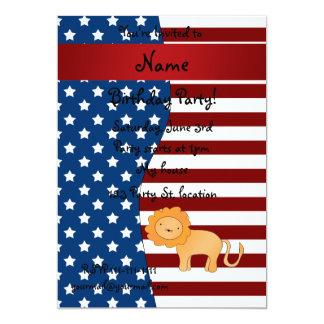 León patriótico conocido personalizado anuncios personalizados