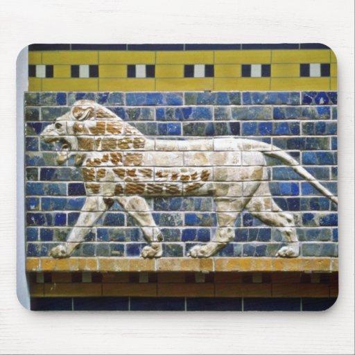 León persa - ladrillo esmaltado, Estambul Mouse Pad