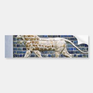 León persa - ladrillo esmaltado, Estambul Pegatina Para Auto
