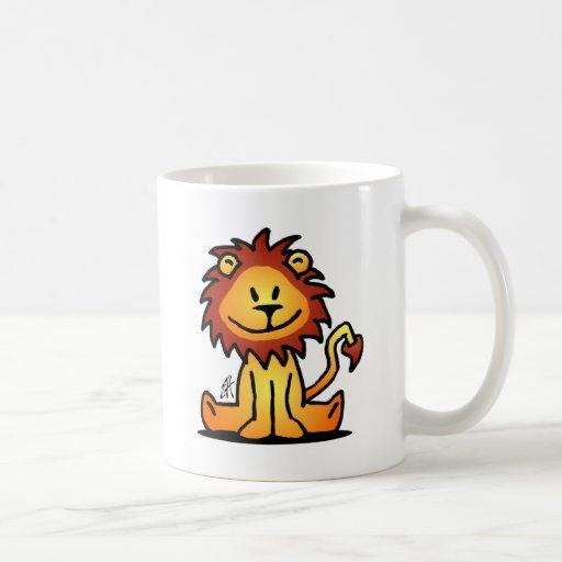 León precioso taza clásica