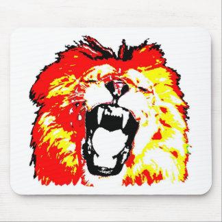 León que ruge mousepad