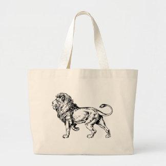 León - rey de la selva bolsa