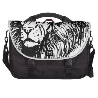 león - rey de la selva bolsas de portatil