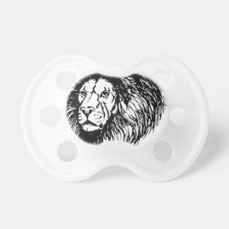 león - rey de la selva chupete
