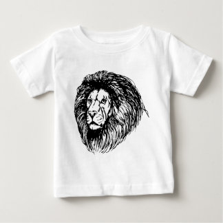león - rey de la selva playera de bebé