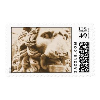 León romano sellos