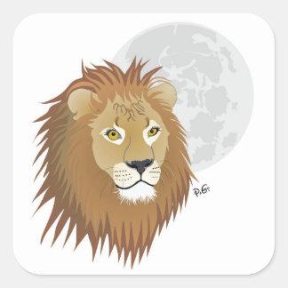León - signo del zodíaco pegatina