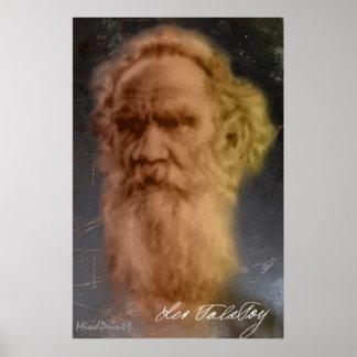 León Tolstói Poster