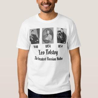 León Tolstói Poleras