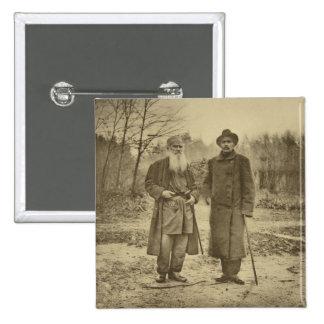 León Tolstói y la máxima Gorki del autor Pin Cuadrado