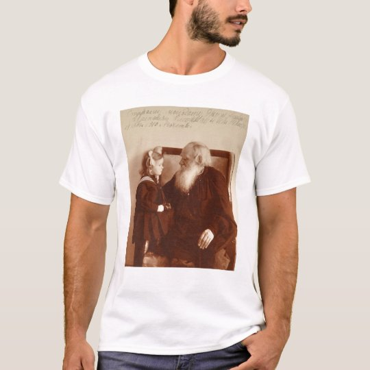 Leon Tolstoy with his granddaughter, Tatiana T-Shirt