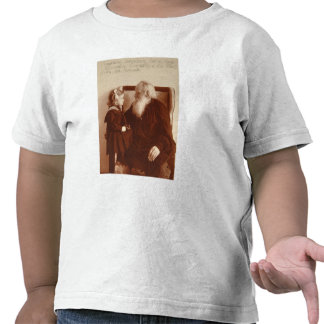 Leon Tolstoy with his granddaughter, Tatiana Tshirt