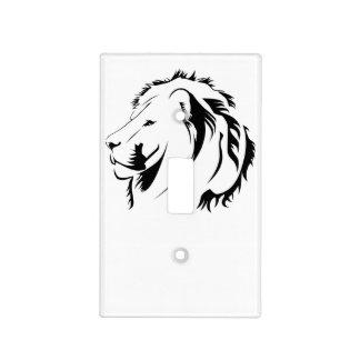león tribal tapas para interruptores